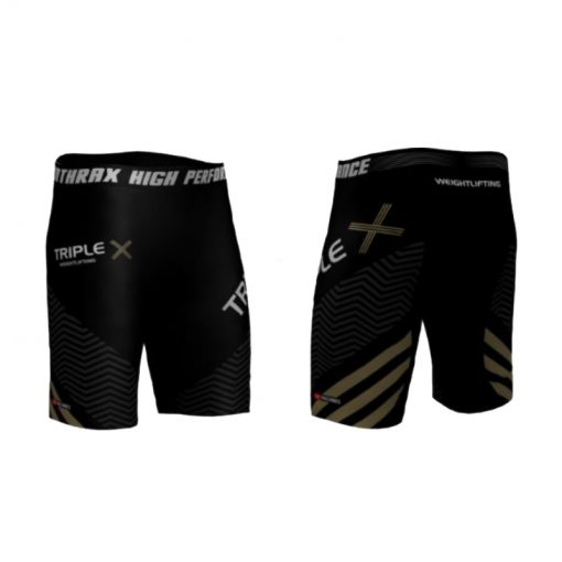 Triple X Men's Compression Shorts