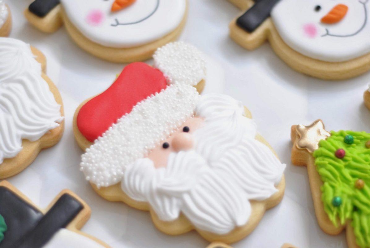 Santa Claus Christmas cookies