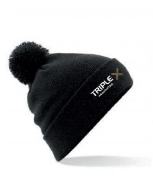 Black Bobble Hat