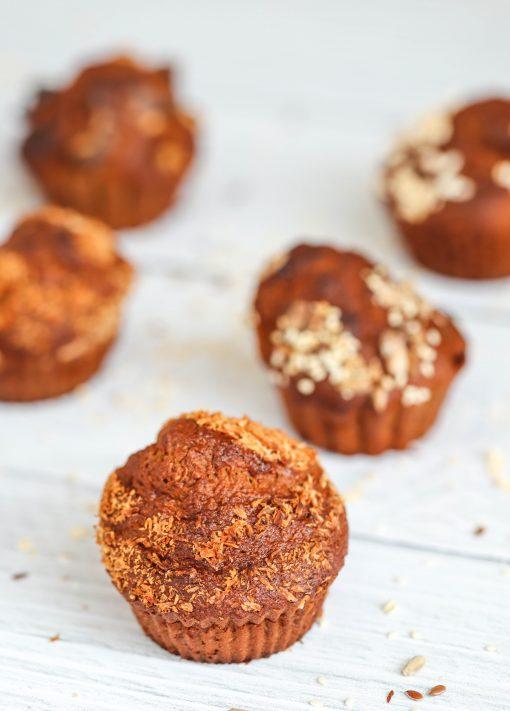 Wholegrain Banana & Yoghurt Breakfast Muffins